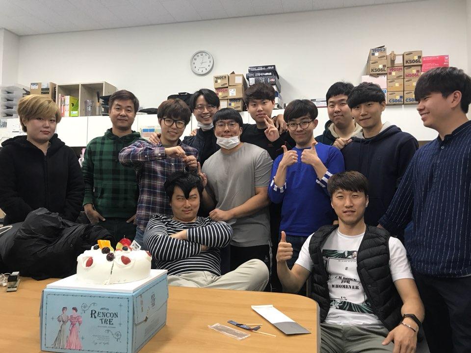 복태수 학생 생일 기념