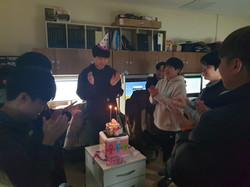 이상엽학생 생일파티