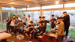 신명수, 홍동기 학생 디펜스 기념 회식