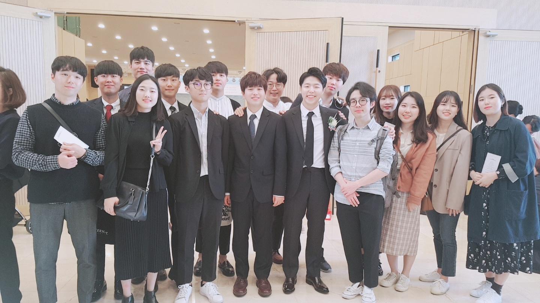 송규진학생 결혼식