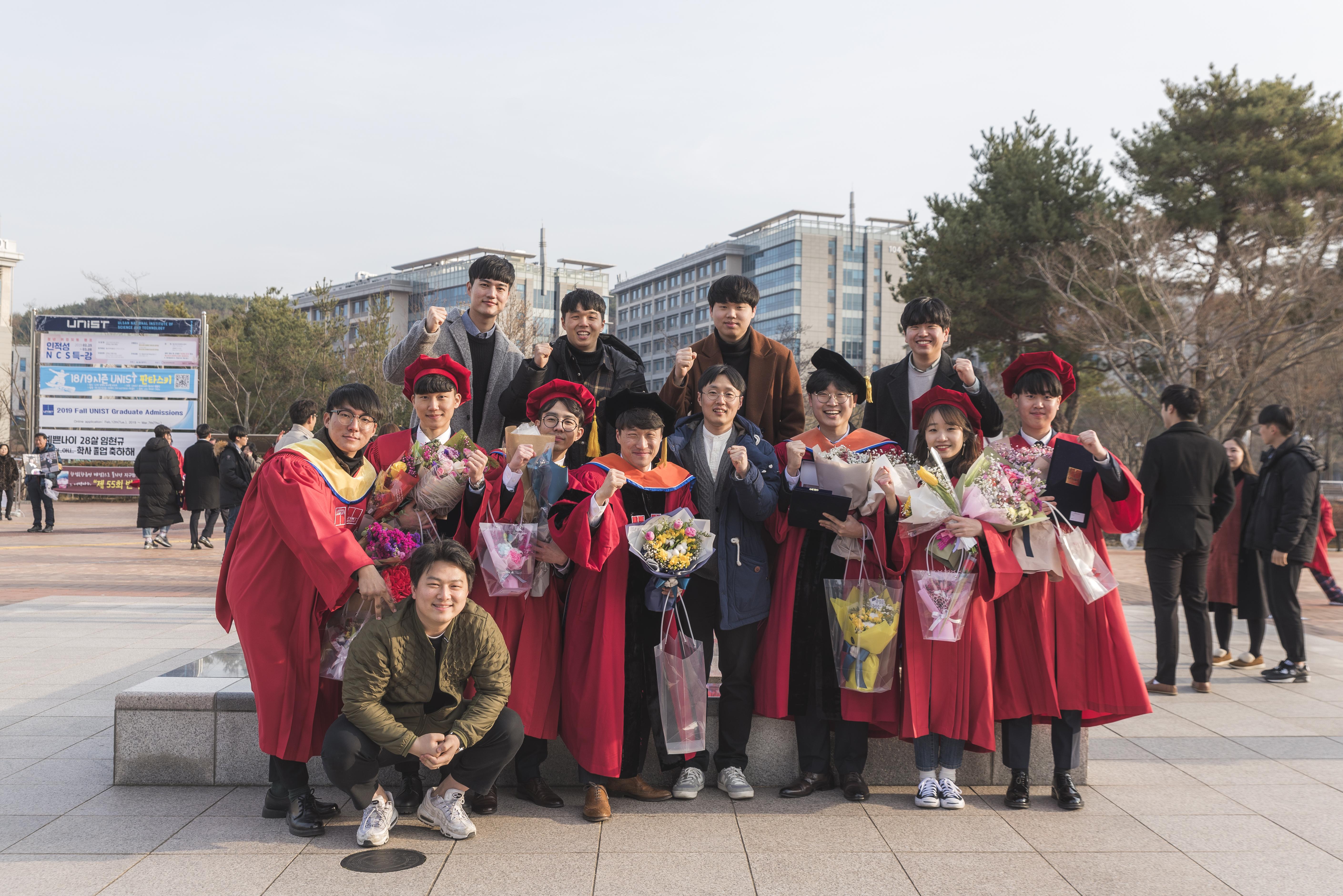 19년 2월 졸업식
