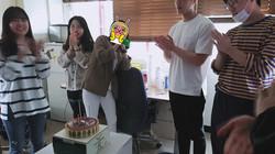 이지은학생 생일파티