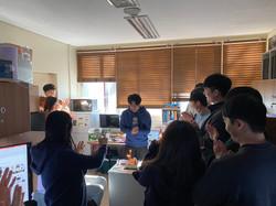 송규진학생 생일파티