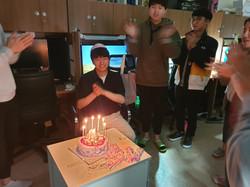 최성호학생 생일파티