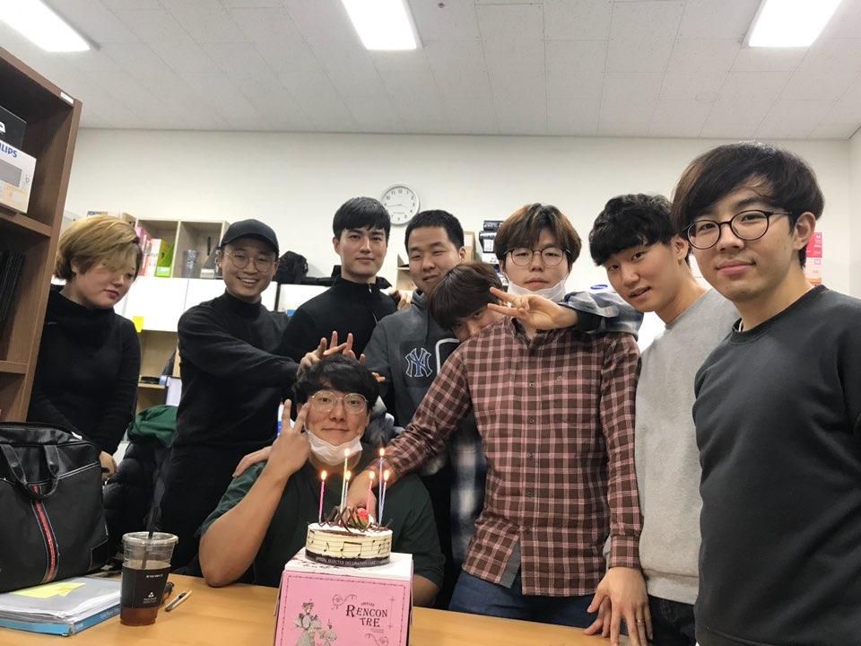 김성호 학생 생일축하파티
