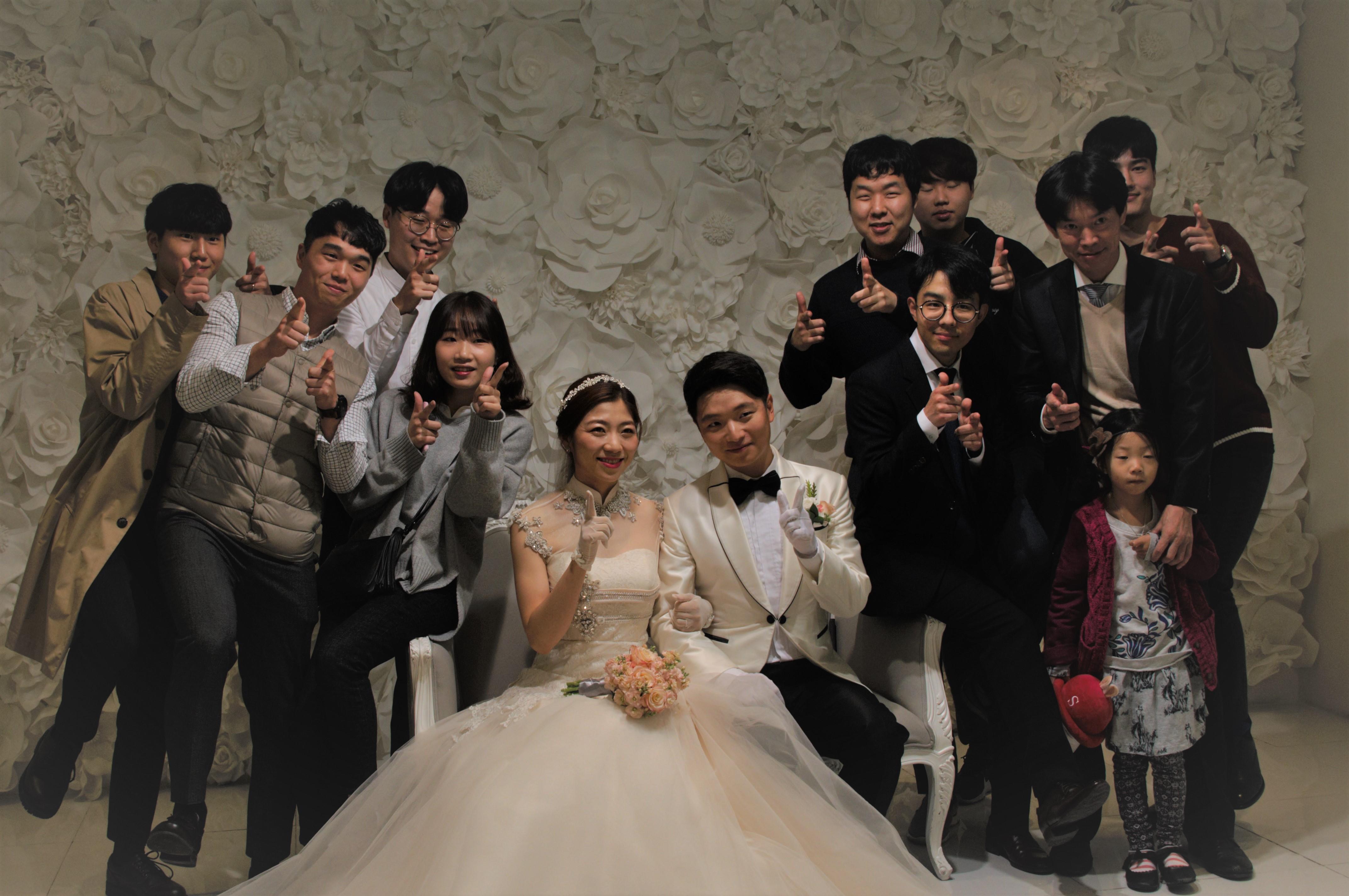 신명수 학생 결혼식