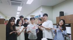 정인수학생 생일파티