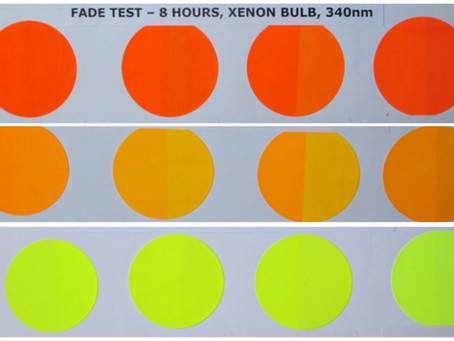 Protecting Fluorescent Pigment Dye by Controlling its Environment
