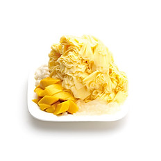 DURIAN SHAVED ICE