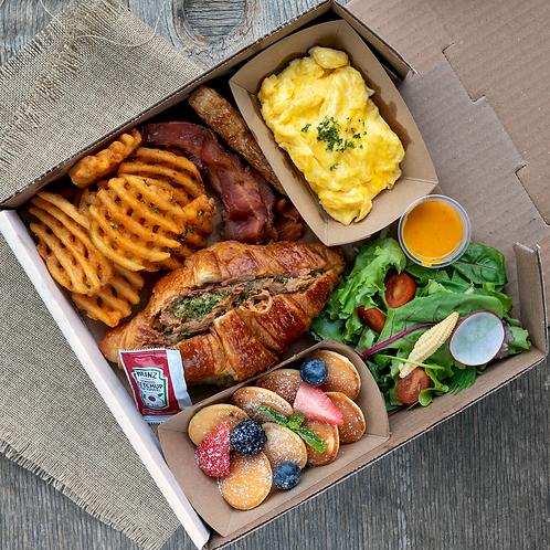 Brunch box #2 - Pulled Pork