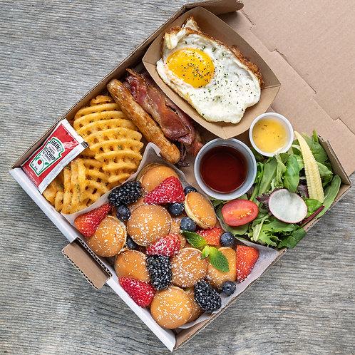 Brunch box #5 - Mini Buttermilk Pancakes