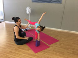Mommy and Me Yoga, 2018