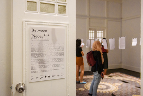 Between the Pieces: an exhibition on untold stories of depression in Singapore and Kuching