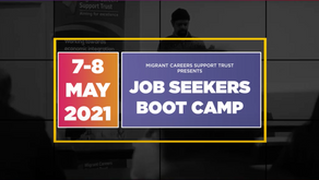 Job Seekers Bootcamp Part 3: Highlights