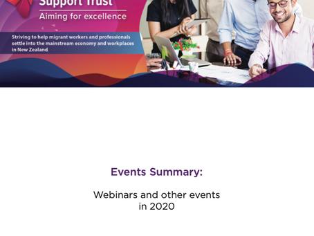 Migrant Careers Support Trust: Event Report 2020