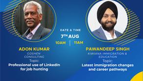 Migrant Careers upcoming webinar
