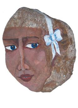 Η Μυρτώ με την λευκή κορδέλα
