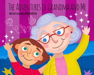 The Adventures of Grandma and Me: Cover Art