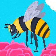 Shrill Carder Bee for Scouts