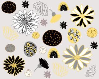 Yellow Carnival Pattern