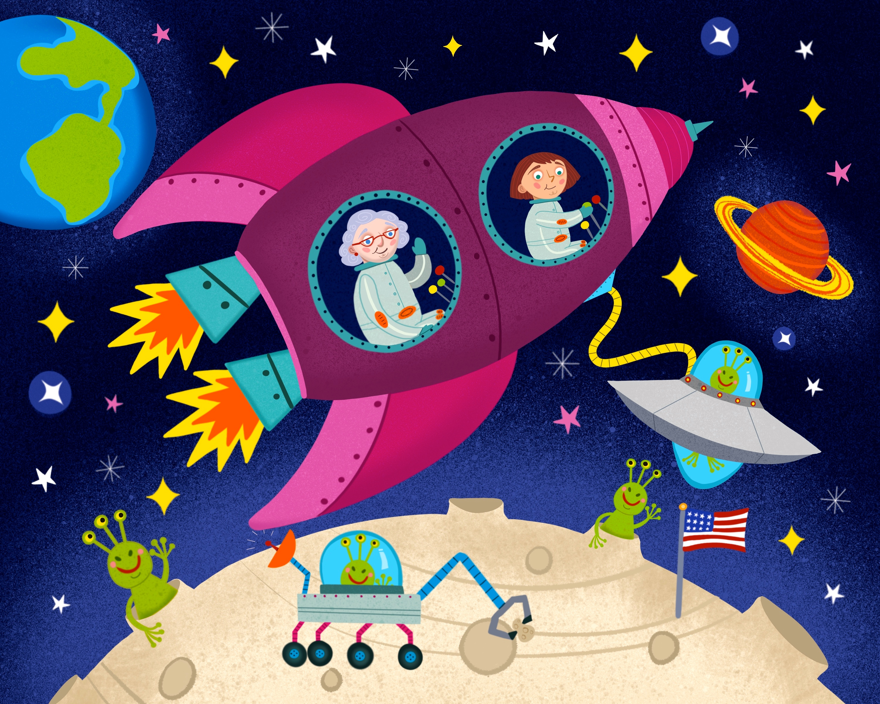 Grandma and Me: Space Adventure