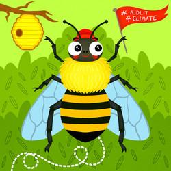 Mr. Bee ( #Kidlit4climate campaign)