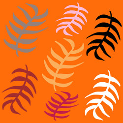 Orange Palms © Nicole Wilson