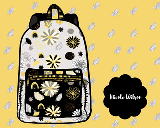 Yellow Carnival Backpack