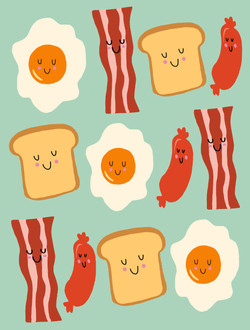 Breakfast Gang © Nicole Wilson