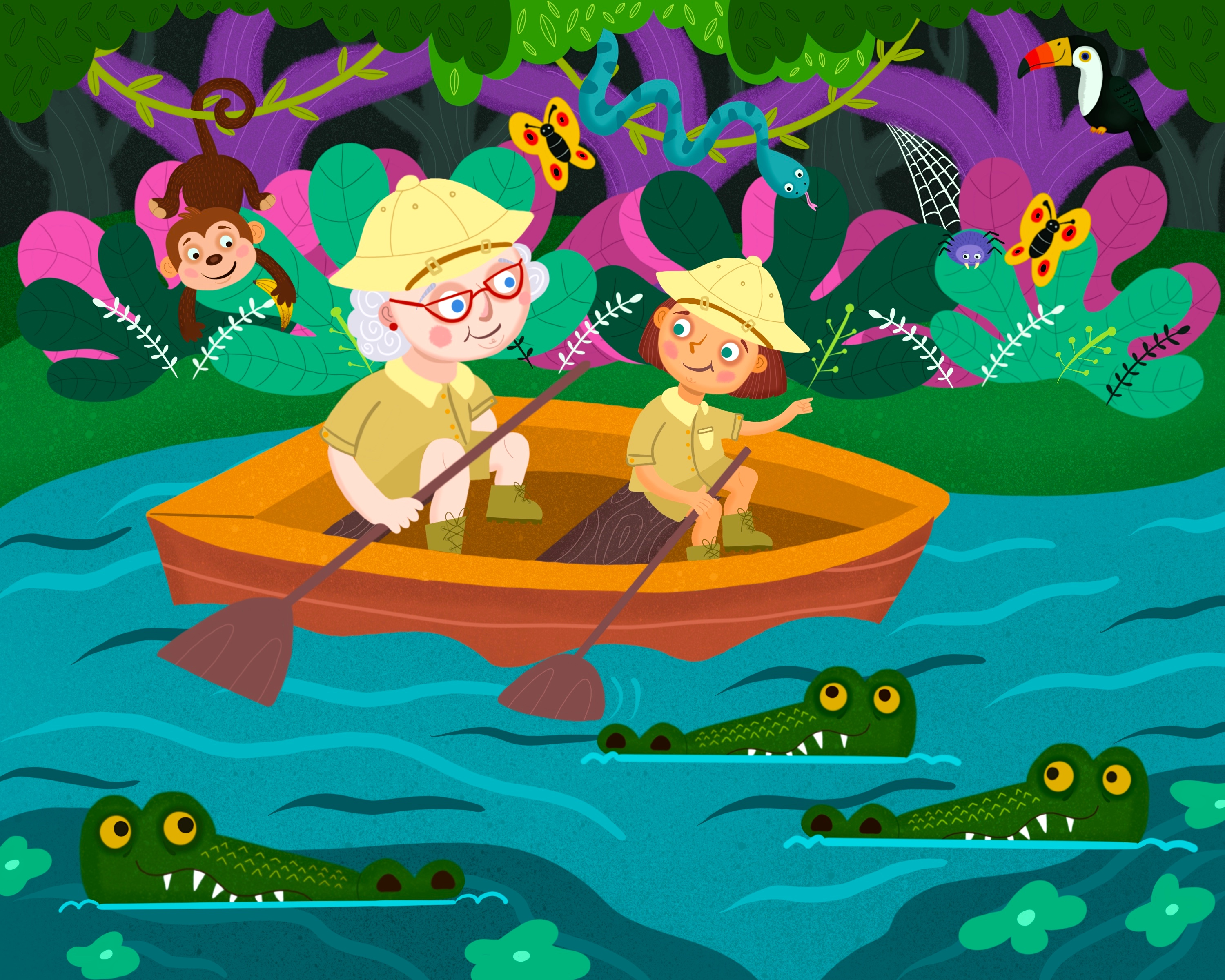 Grandma and Me : Jungle Adventure