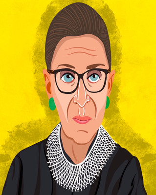 Ruth Bader Ginsburg A.K.A The Notorious RBG