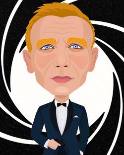 Daniel Craig : James Bond