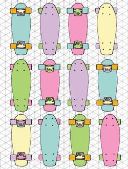 Penny Boards  © Nicole Wilson