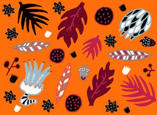Fall Safari Pattern