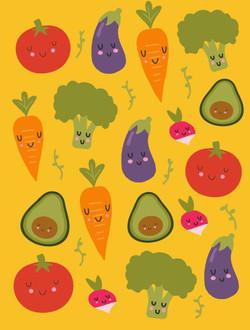 Little Veggies  © Nicole Wilson