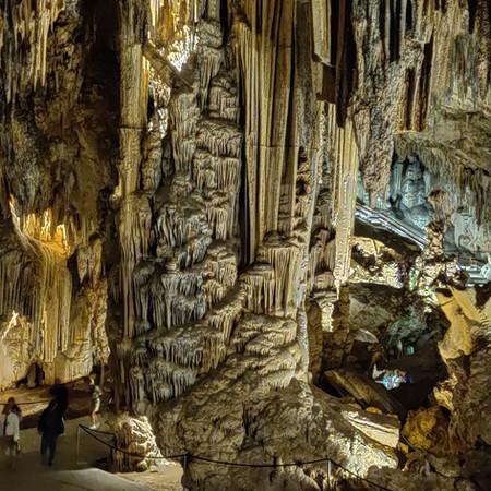 Inside the Nerja Caves