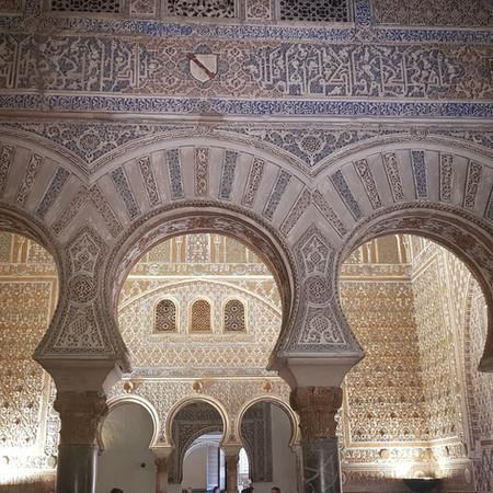 Inside the Royal Alcázar of Seville