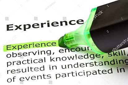 stock-photo-the-word-experience-highligh