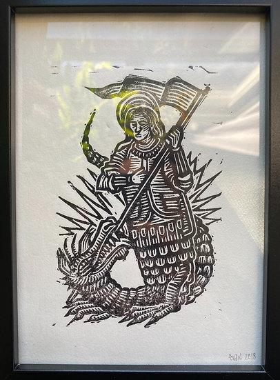 Dragon Slayer Print