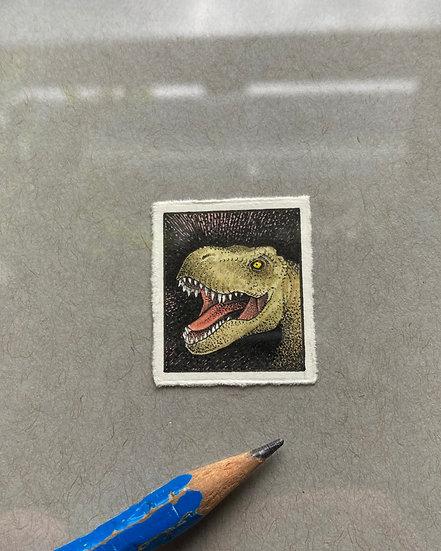 T-Rex Tiny Drawing