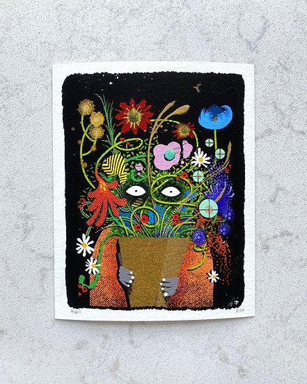 """""""The Bouquet"""" Print (Unframed)"""