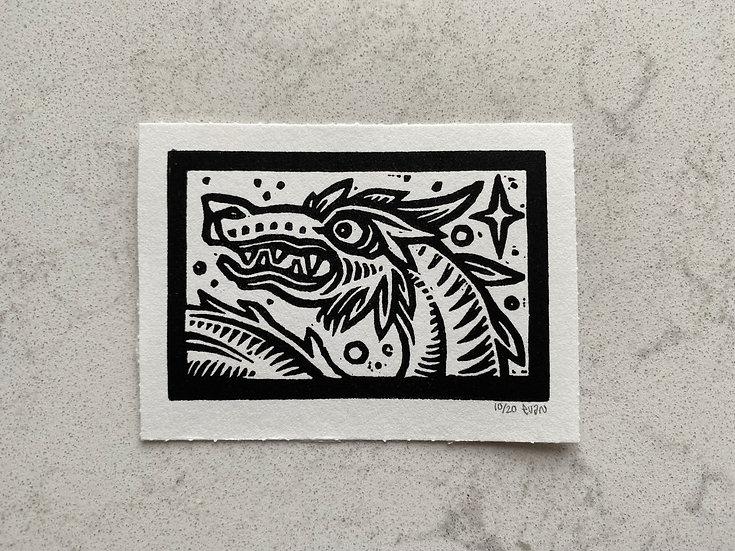 Dragon Print (Unframed)