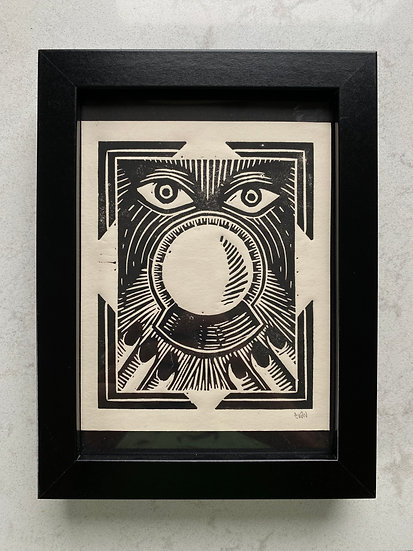 Crystal Ball Print in Frame