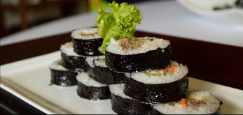 Seaweed Rolled Rice