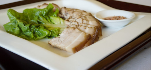 Steamed Pork Belly