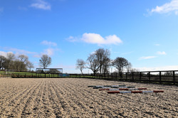 Arena for horse training