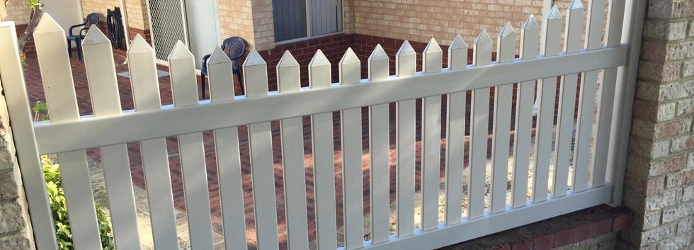 PVC Concave Fence