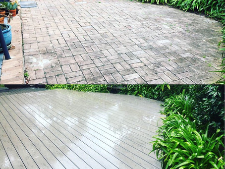 From pavers to this....