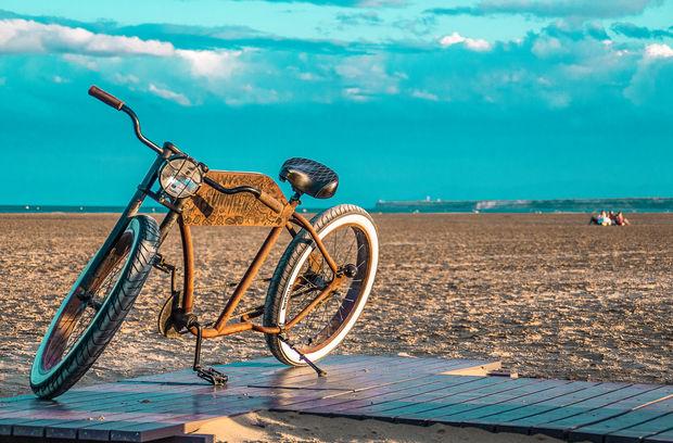 Choppers en bord de plage