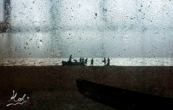 Fishermen to catch fish in Hikkaduwa